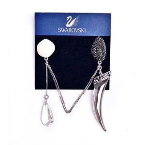 NWT Swarovski Double Magnetic Brooch